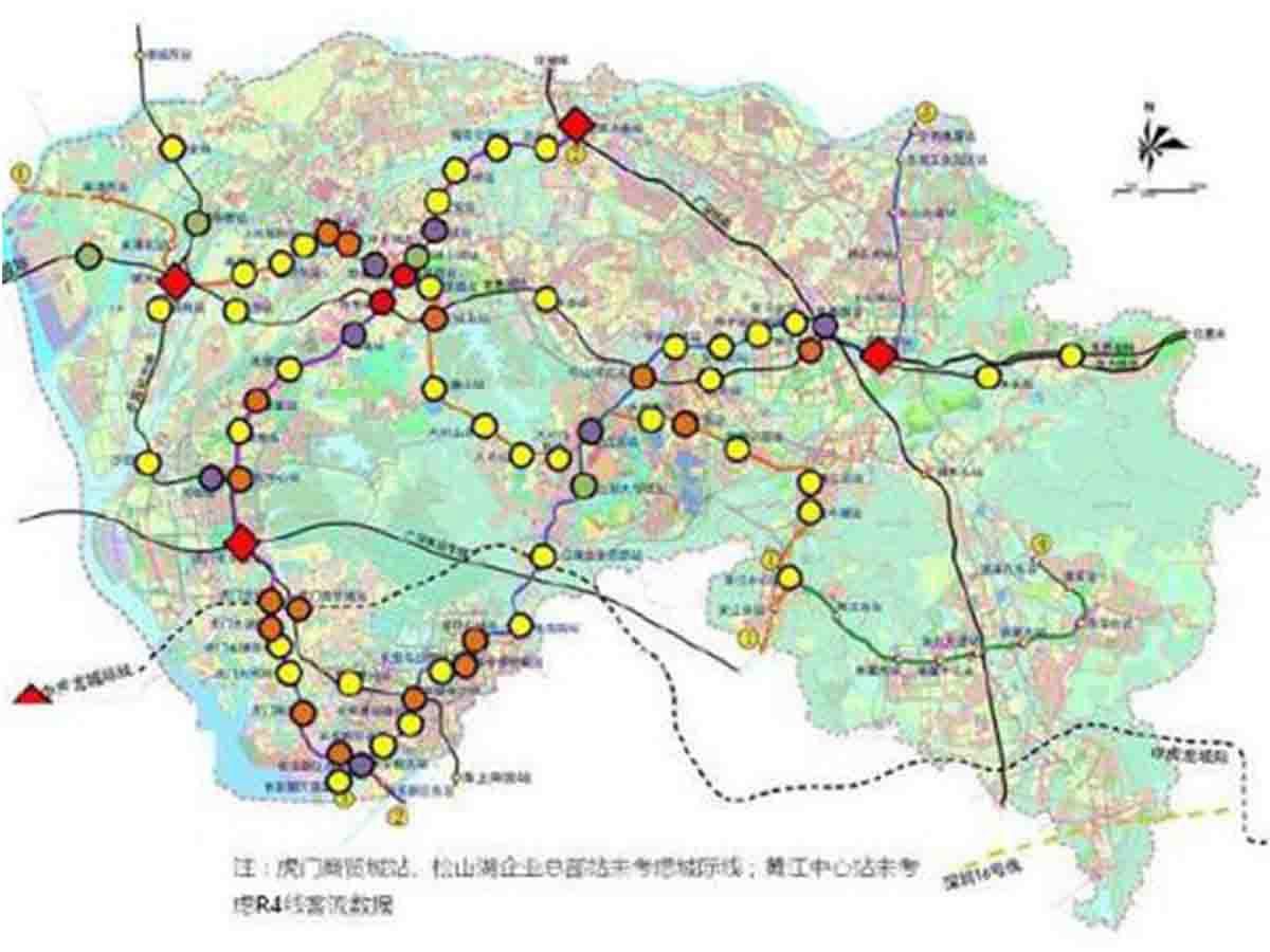 城际轨道站场土地评估