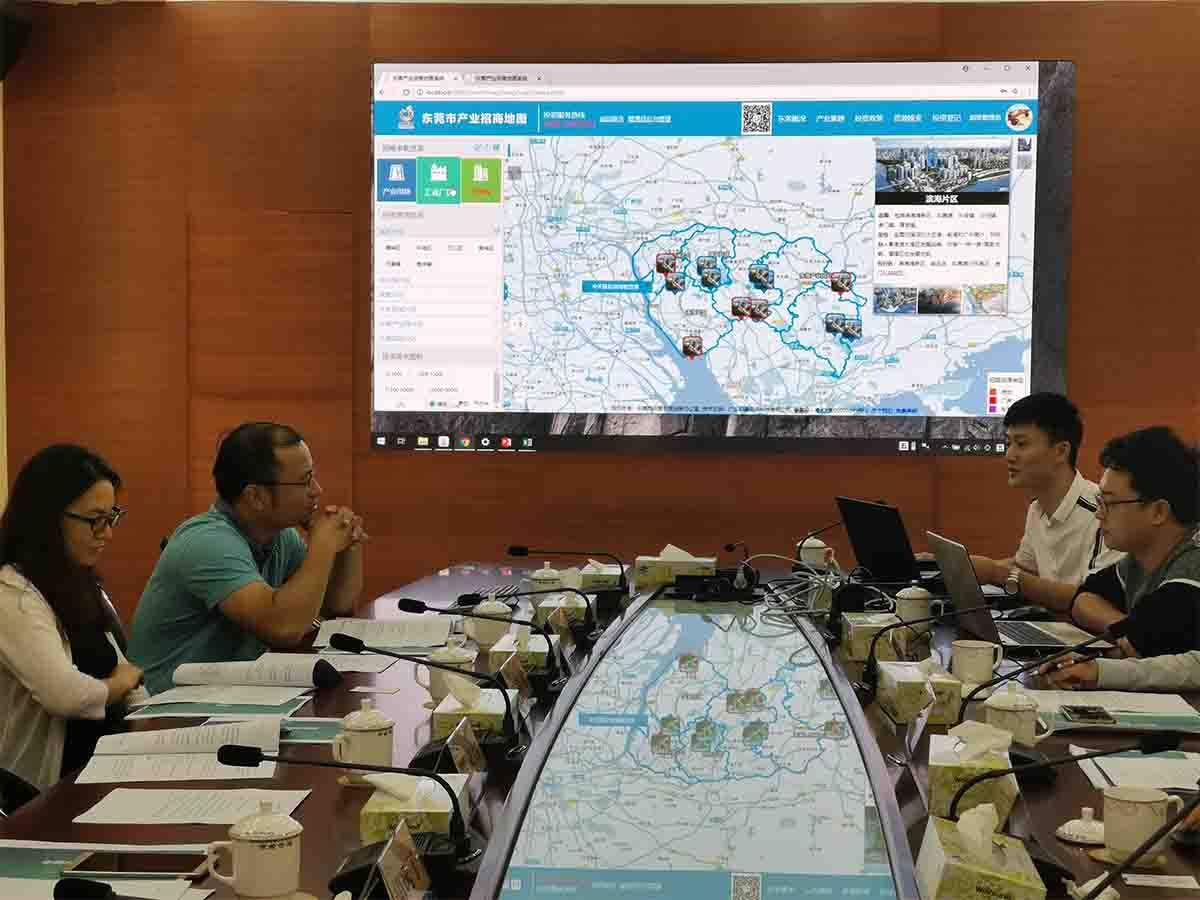 招商信息地图系统研发