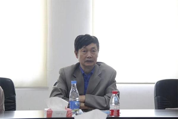 广州南洋理工督导教师一行到集团望牛墩房地一体项目部走访座谈